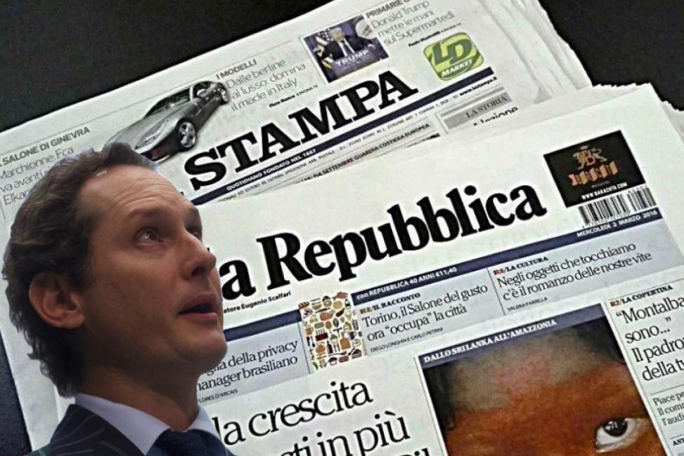 Repubblica, redazione in rivolta: Molinari blocca il comunicato del Cdr su Fca. La voce grossa dei padroni Agnelli