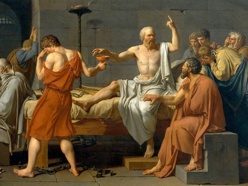 Fedone di Platone al Complesso rupestre della Gurfa di Alia.