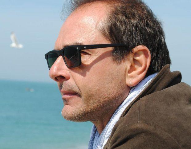 In piazzetta Bagnasco con Gery Palazzotto per prendere appunti sulla Palermo che verrà