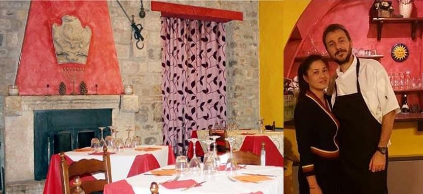 Il ristorante tipico territoriale de I Templari a Polizzi Generosa. Pizze con gli antichi grani di Sicilia e riferimento di cucina thailandese