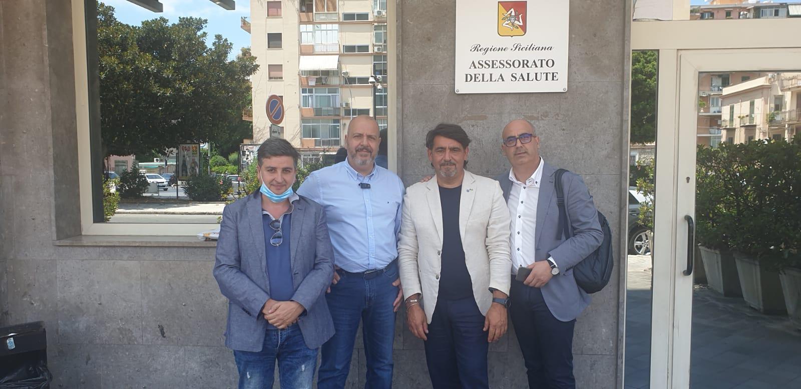 Seus 118. Ugl sanità e medici Sicilia ricevute ieri in Assessorato della Salute per un confronto sulla nascita di Areus.