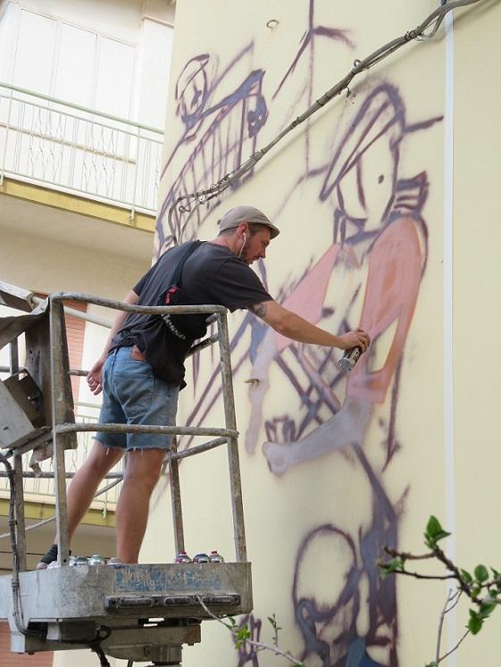 Montelepre, chiude con entusiasmo e partecipazione la settimana dello Street Art promossa da BCsicilia.