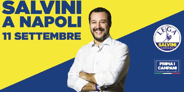 Caro Salvini, ora i napoletani non puzzano più?