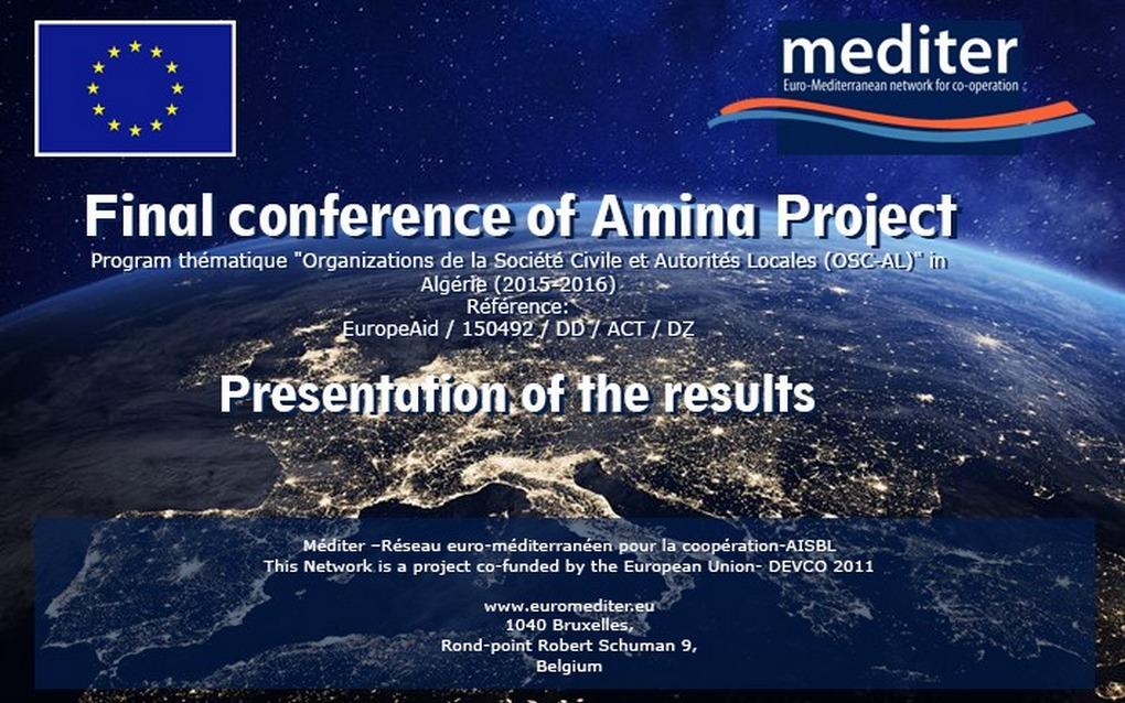 Presentati su Zoom i risultati del Progetto Amina, promosso dalla Ong MEDITER e finanziato dall'UE. Oltre 50 le donne leader del Mediterraneo che vi hanno preso parte, protagoniste di un libro pubblicato in 5 lingue