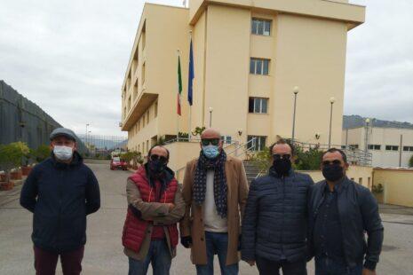 Provveditorato Regionale dell'amministrazione Penitenziaria, una delegazione della UILPA in visita presso gli Uffici a Palermo.