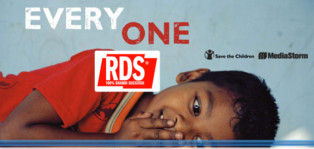 RDS 100% Grandi Successi al fianco di Save the Children per il futuro di tanti bambini in difficoltà nel nostro Paese