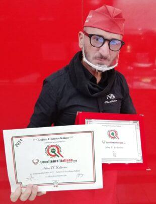 REGISTRO DELLE ECCELLENZE ITALIANE, RICONOSCIMENTO PER NINO 'U BALLERINO