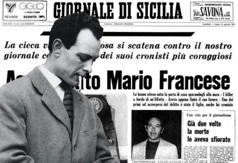Iniziativa per anniversario assassinio di Mario Francese