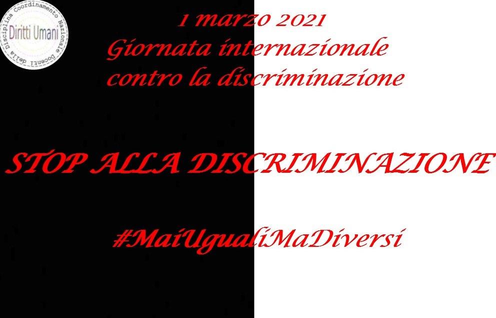 1 marzo. Giornata internazionale contro la discriminazione: riflessioni e proposte didattiche.