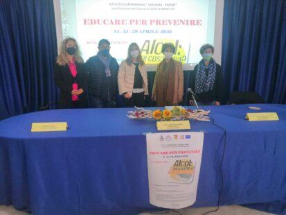 Giornate di prevenzione dall'alcol dell'IC Capuana/Pardo di Castelvetrano