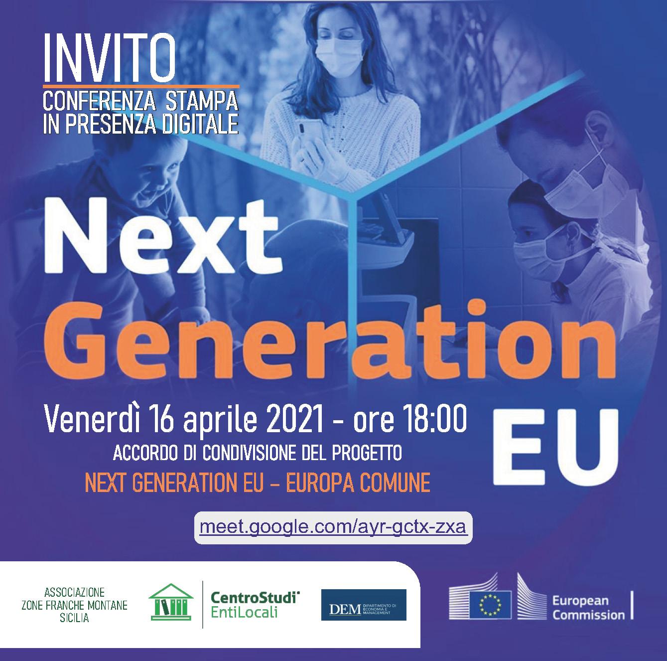 Sviluppo del territorio: Associazione Zone Franche Montane aderisce a Next Generation EU. Venerdì 16 aprile la presentazione del progetto