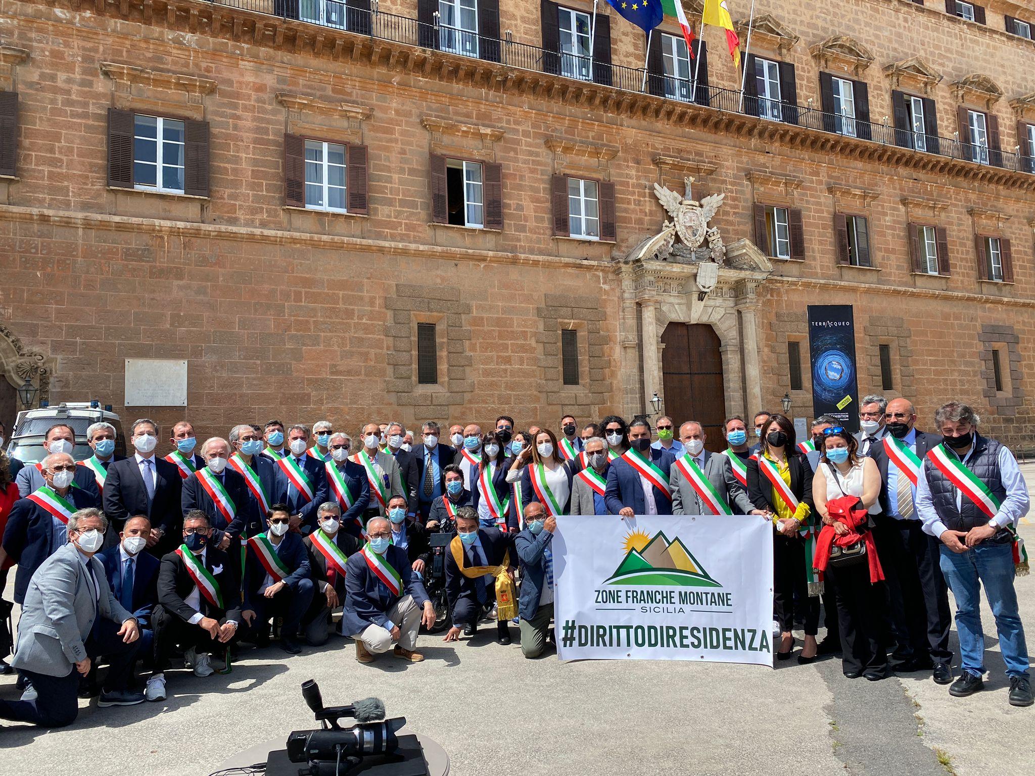 """Zone Franche Montane: i sindaci compatti a Palazzo dei Normanni: """"I nostri operatori economici e i resilienti delle Terre alte non possono più aspettare"""""""