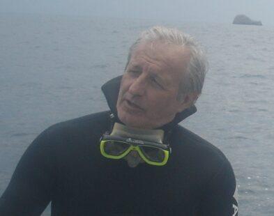 Gaetano Lino Responsabile Gruppo subacqueo di BCsicilia nominato Ispettore Onorario per i Beni culturali sommersi della Provincia di Palermo