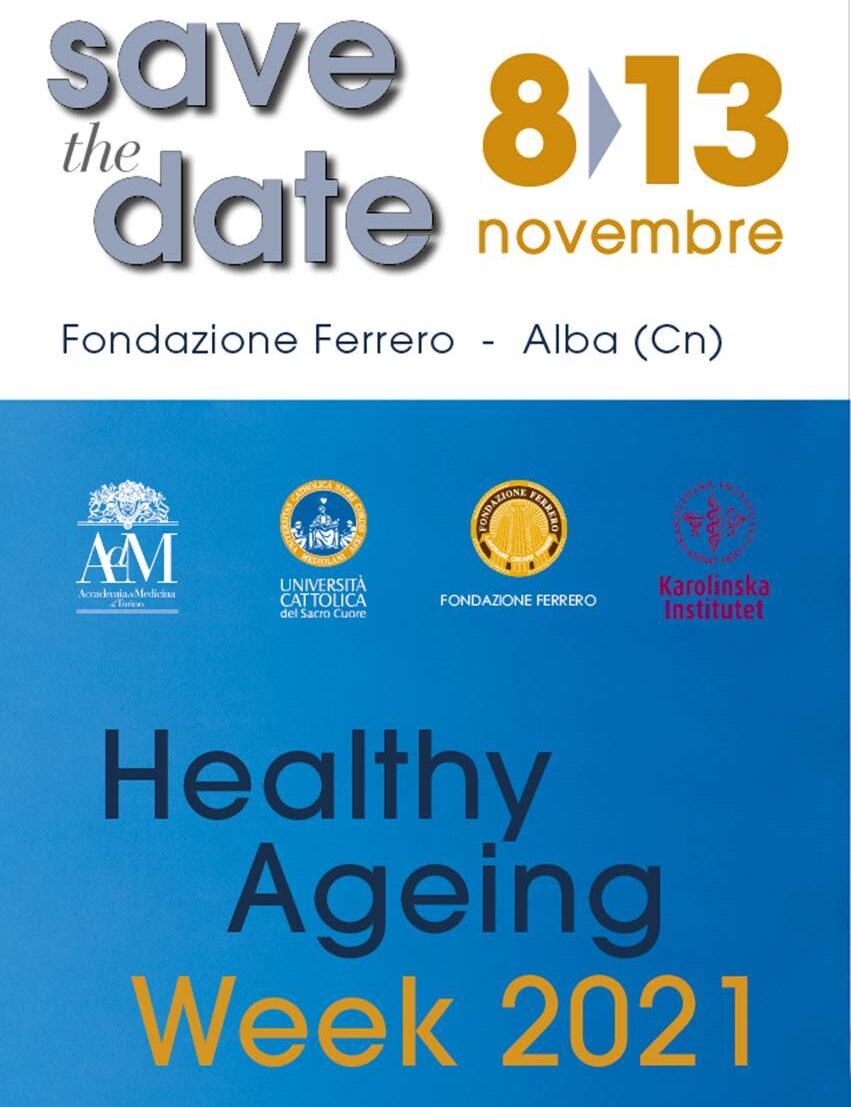 Save the date Healthy Ageing Week Fondazione Ferrero