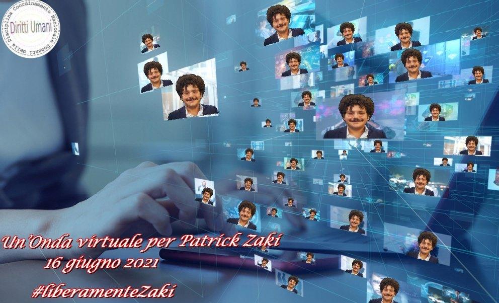 16 giugno. Iniziativa per la liberazione di Patrick Zaki