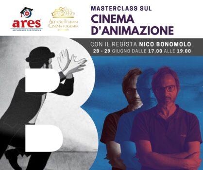 All'Accademia del Cinema Ares la Masterclass sul Cinema Animato con il regista Nico Bonomolo
