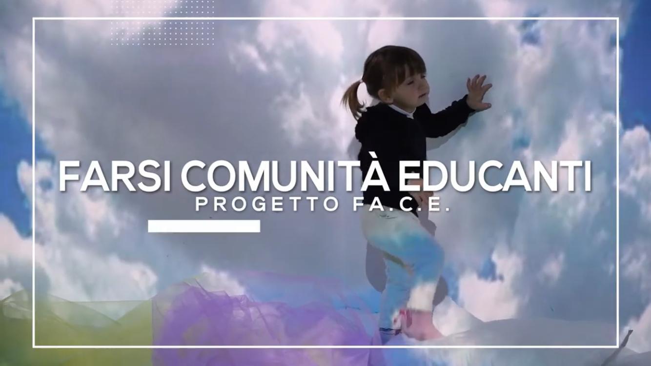 """""""FARSI COMUNITA' EDUCANTI"""" UN RACCONTO CORALE CONTRO LA POVERTA' EDUCATIVA"""