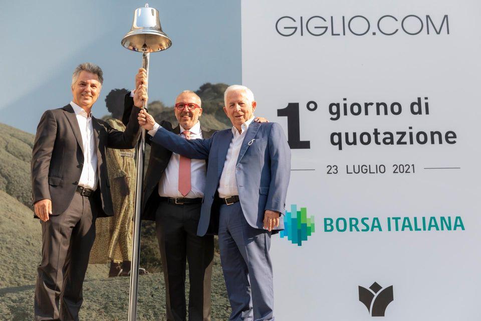 In Borsa è spuntato un Giglio. Alle 19 di giovedì 29 luglio, in piazzetta Bagnasco, Giuseppe Giglio racconta il taglio di un importante traguardo