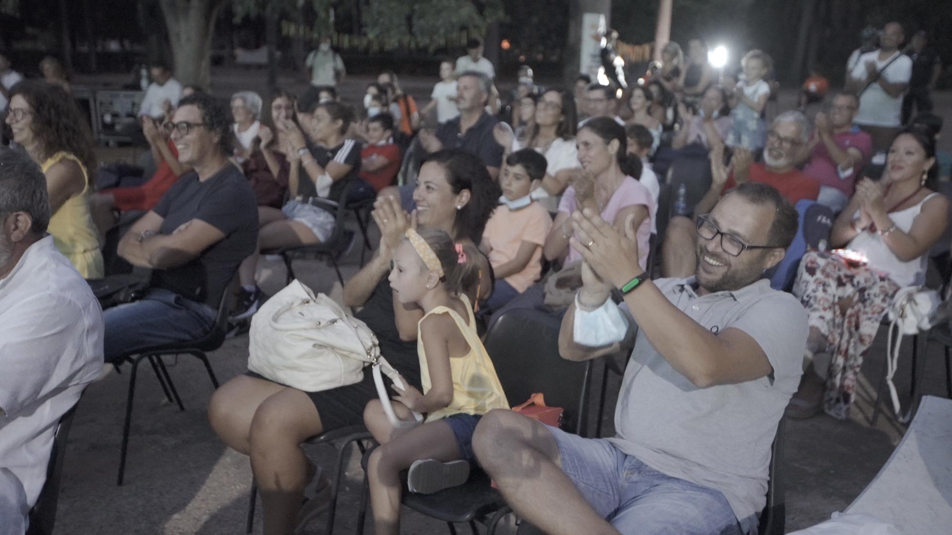 """Oltre 60 i bambini che hanno dato vita, a Villa Trabia, a una performance teatrale nell'ambito del Campus """"Io, giovane Attore"""" per la prevenzione delle ludopatie"""