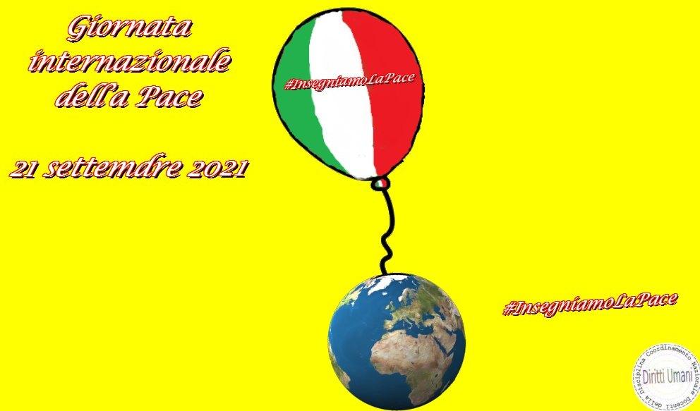 Iniziative per la Giornata mondiale della pace 2021