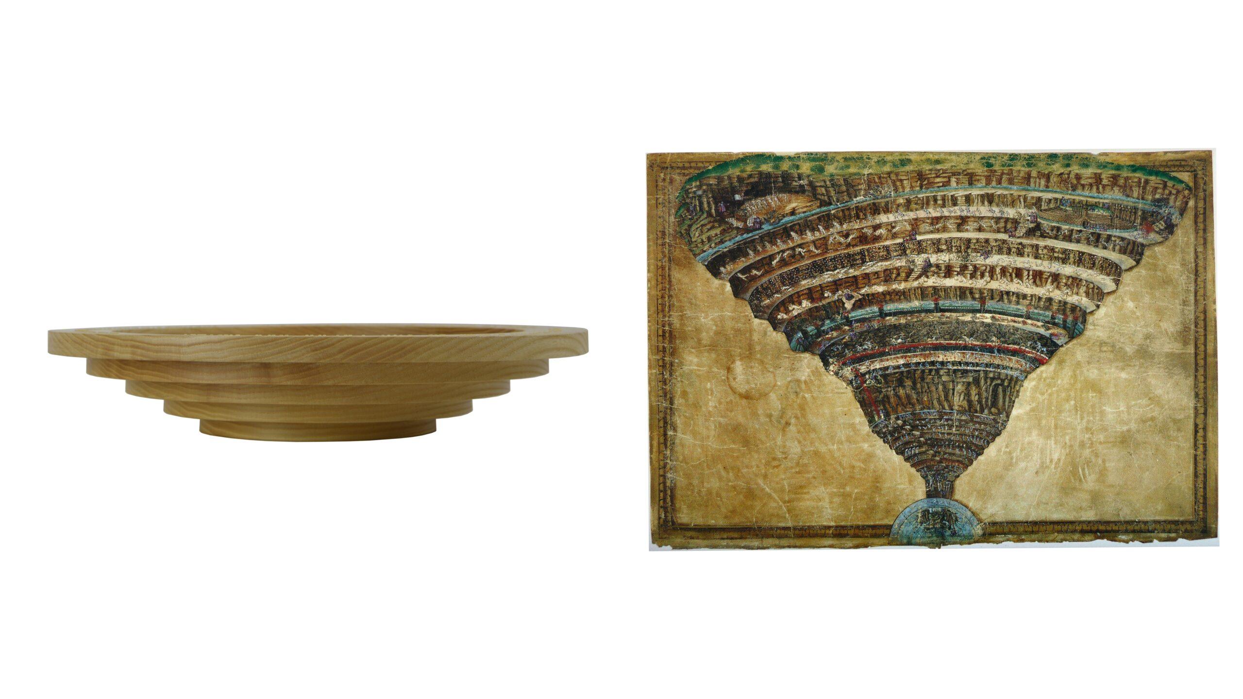 """700 anni fa moriva Dante: l'opera inedita di Fulvio Morella """"Batea"""" lo celebra raccontando la speranza ai tempi della Pandemia"""