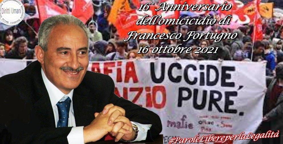 Iniziativa per commemorare il 16° anniversario dell'omicidio di Francesco Fortugno