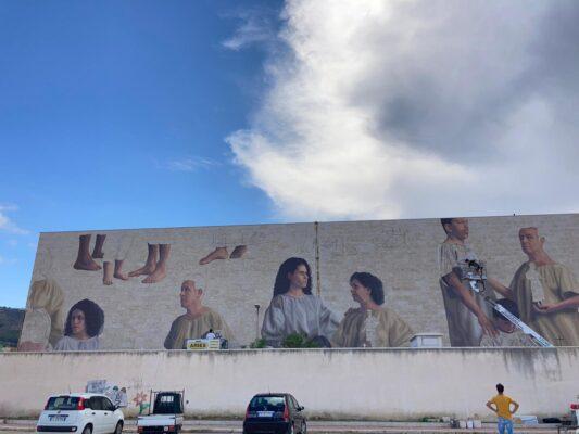 """Campo (M5S): Pretestuose le critiche per il murale al cimitero di Trapani. In tante altre città italiane e del mondo ci sono opere simili"""""""